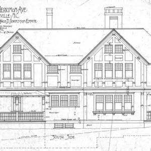 Cottage Merrimon Avenue - for the late Capt. Thos. D. Johnston-Estate--South Side
