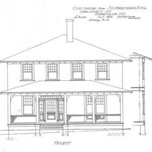 Cottage for S.G. Bernard - Chestnut St.--Front - No. 4
