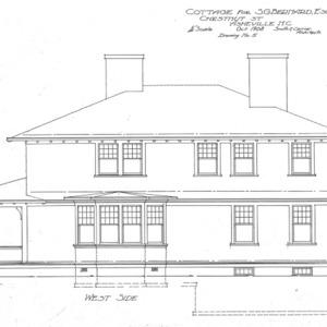 Cottage for S.G. Bernard - Chestnut St.--West Side