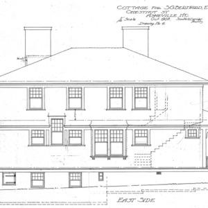 Cottage for S.G. Bernard - Chestnut St.--East Side