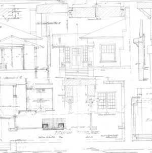 A Cottage Grove Park - for Mr. E. F. Chambless--details
