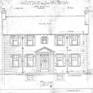 A Cottage for Wm. J. Bryan - Edwin Place--Second Floor