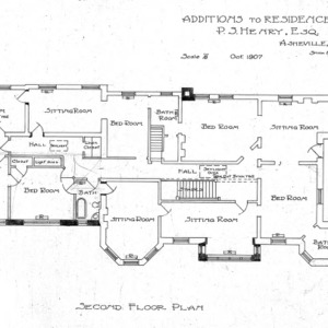 Zealandia Estate - P. S. Henry--Second Floor Plan