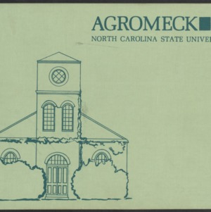 Agromeck, North Carolina State University, 1968