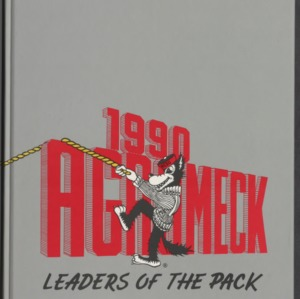 1990 Agromeck: Leaders of the Pack, Volume 88, North Carolina State University