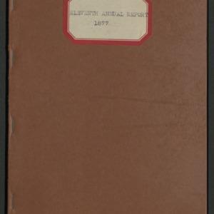 ASPCA Eleventh Annual Report, 1876