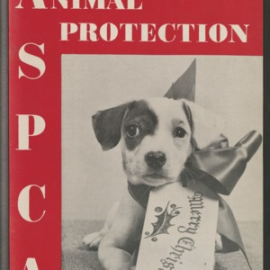 ASPCA Animal Protection, Winter 1958