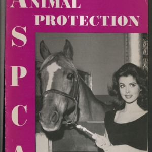 ASPCA Animal Protection, Spring 1958