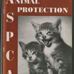 ASPCA Animal Protection, Fall 1956