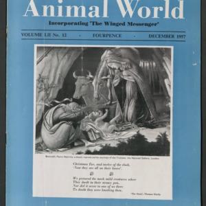 Animal World, December 1957