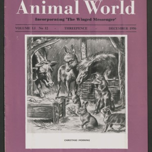Animal World, December 1956