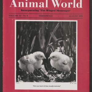 Animal World, August 1956