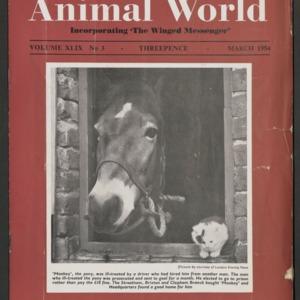 Animal World, March 1954