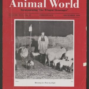 Animal World, December 1954