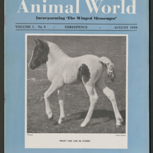 Animal World, August 1955
