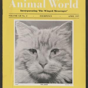 Animal World, April 1957