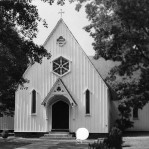 Front view, St. Mary's Chapel, Raleigh, North Carolina