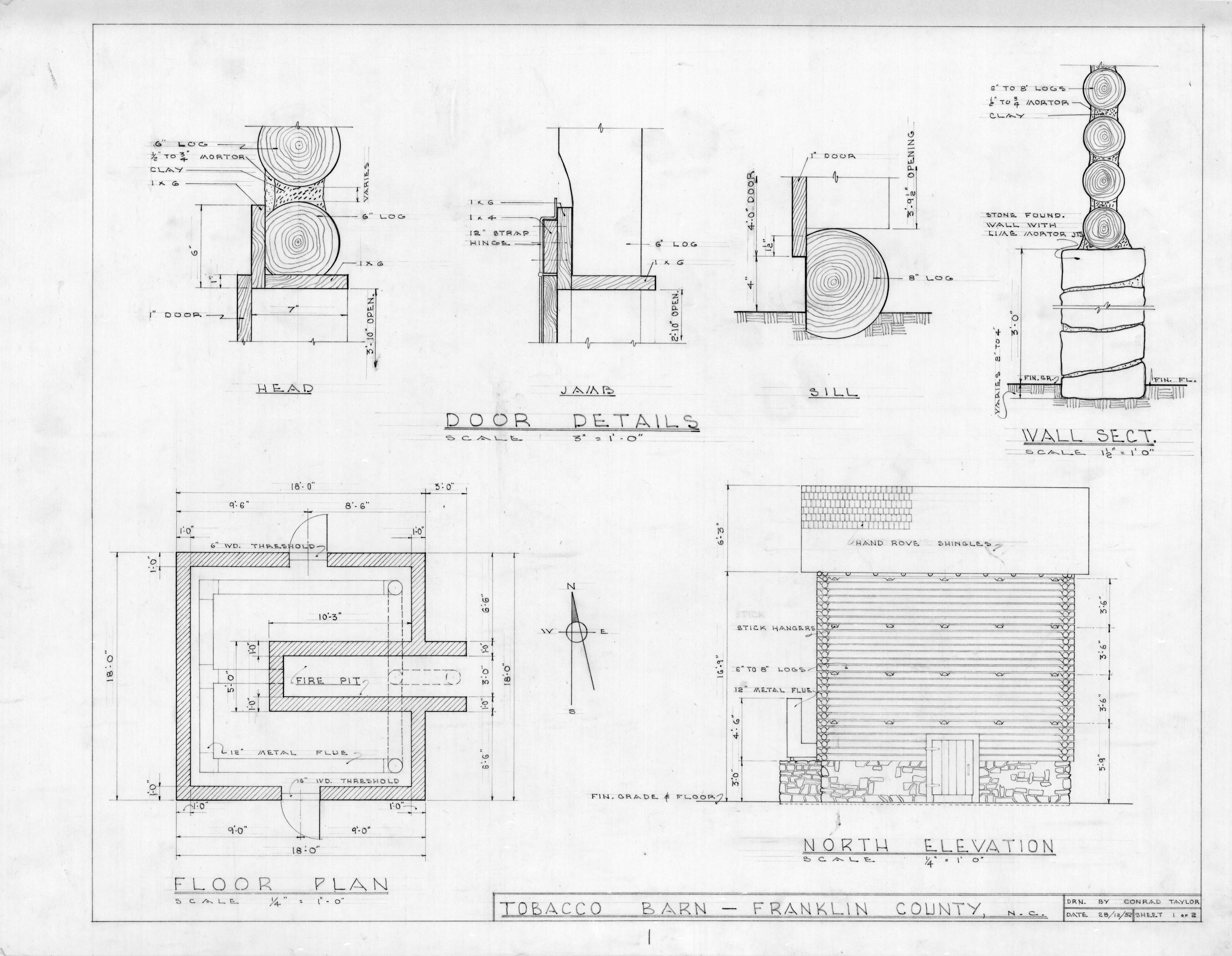 Cattle pole barn plans nomis for Tobacco barn house plans