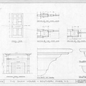Details, Shaw House, Southern Pines, North Carolina
