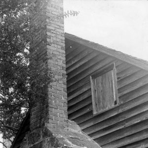 Chimney, Shaw House, Southern Pines, North Carolina