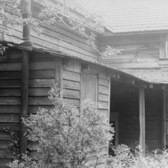 Front view, Shaw House, Southern Pines, North Carolina