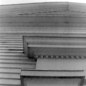 Exterior detail, Grove Presbyterian Church, Kenansville, North Carolina