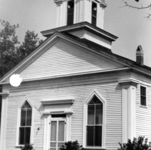Front view, Grove Presbyterian Church, Kenansville, North Carolina