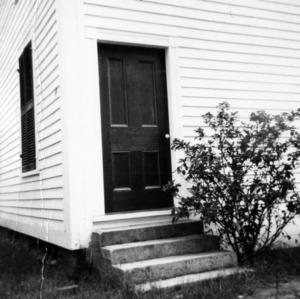 Door, Elizabeth Methodist Church, Johnston County, North Carolina