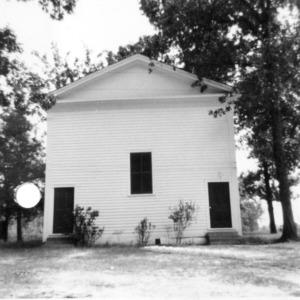 View, Elizabeth Methodist Church, Johnston County, North Carolina