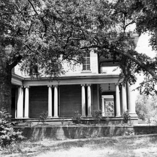 Side view, Honnet House, Wilmington, North Carolina