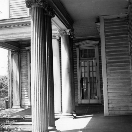 Porch, Honnet House, Wilmington, North Carolina
