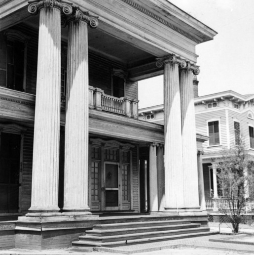 Front view, Honnet House, Wilmington, North Carolina
