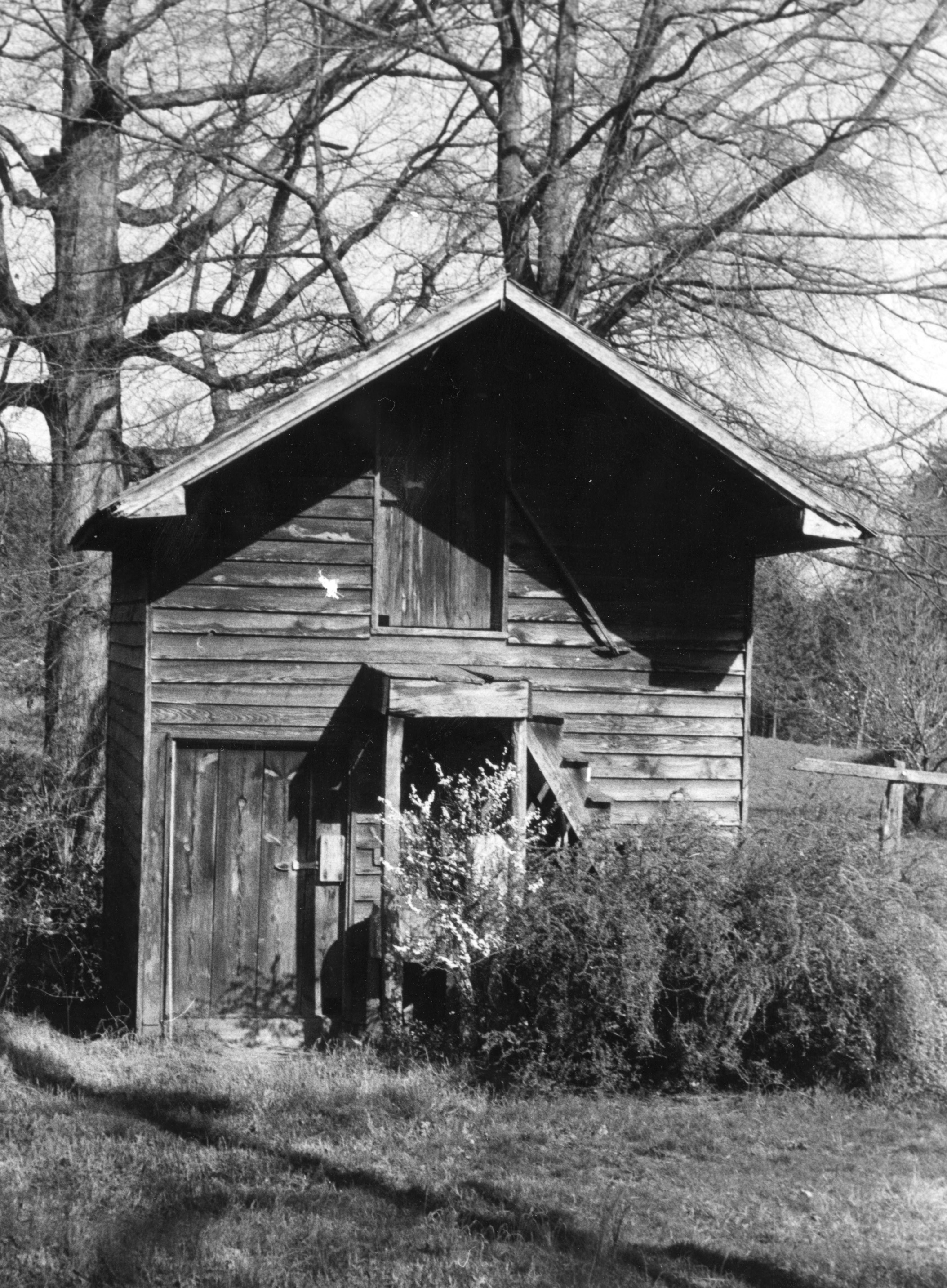 Smokehouse, Colonel Benjamin Franklin Brown House, Dixie, North Carolina