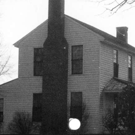 Side view, Colonel Benjamin Franklin Brown House, Dixie, North Carolina
