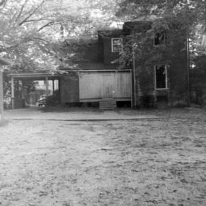 Rear view, Sherwood House, Greensboro, North Carolina