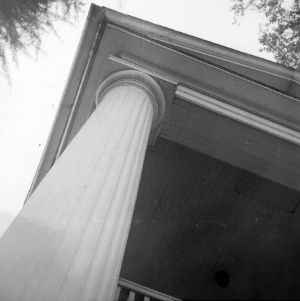 Column detail, Sherwood House, Greensboro, North Carolina
