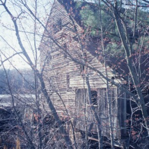 Side view, Yates Mill, Wake County, North Carolina