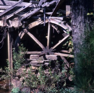 Partial view, Yates Mill, Wake County, North Carolina