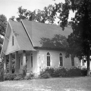 View, Beth Car Chapel, Bladen County, North Carolina