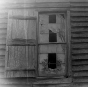 Window detail, Brown Marsh Presbyterian Church, Bladen County, North Carolina
