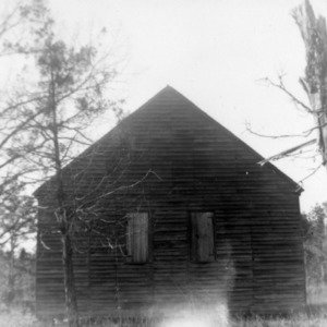 View, Brown Marsh Presbyterian Church, Bladen County, North Carolina