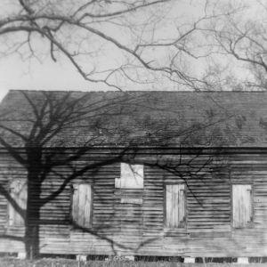 Side view, Brown Marsh Presbyterian Church, Bladen County, North Carolina