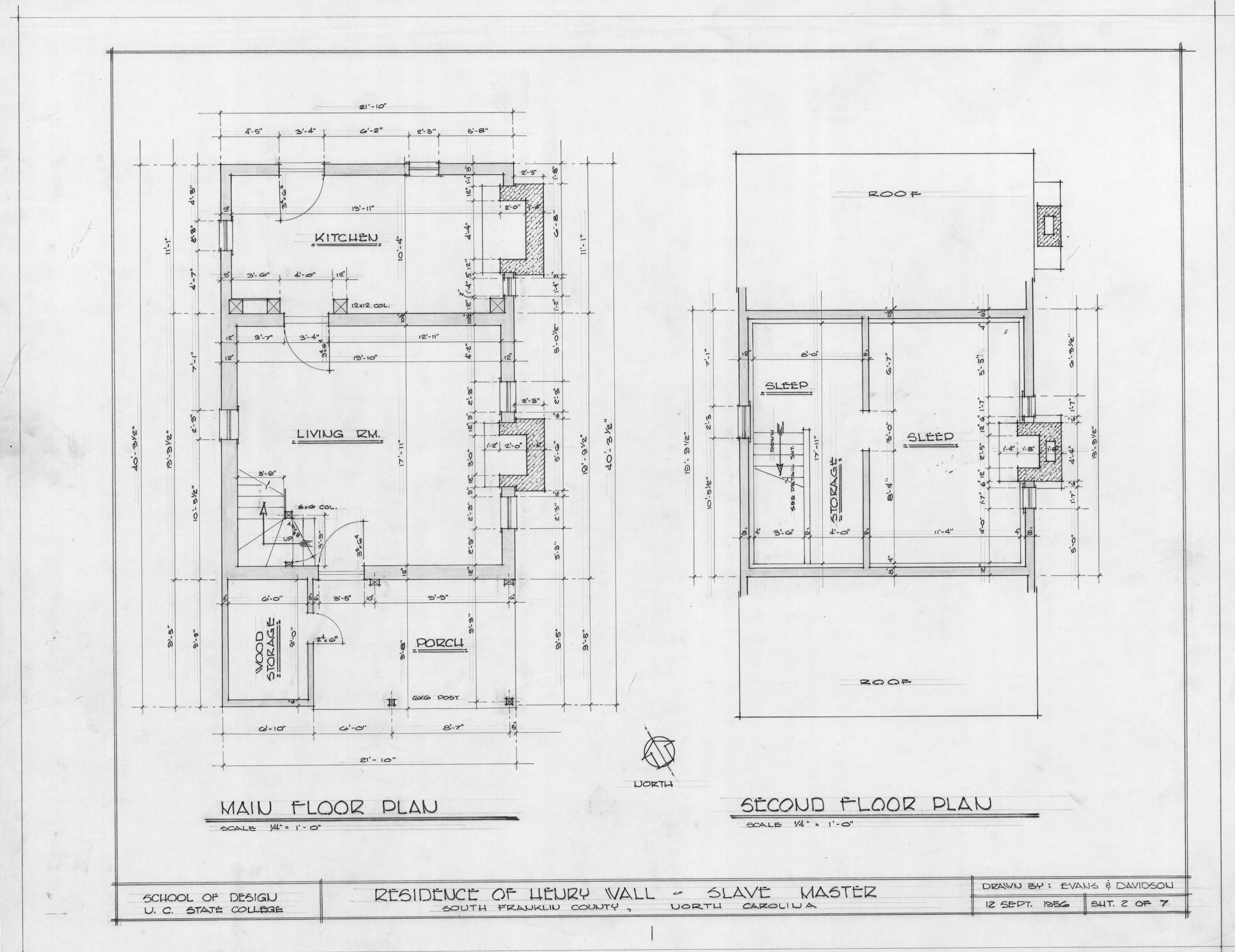Floor plans henry t wall house franklin county north for Wall homes floor plans