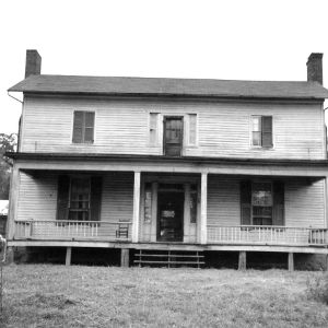 Front view, Old Corpening House, Caldwell County, North Carolina