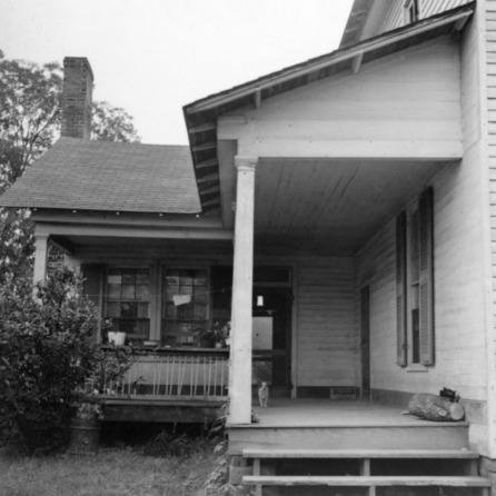 Porch, Old Corpening House, Caldwell County, North Carolina
