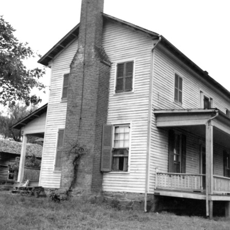 Side view, Old Corpening House, Caldwell County, North Carolina