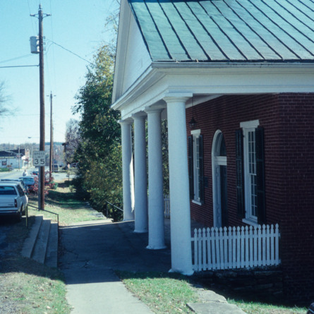 View, Milton Presbyterian Church, Milton, Caswell County, North Carolina