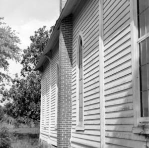 Exterior detail, St. Martin's Episcopal Church, Hamilton, North Carolina