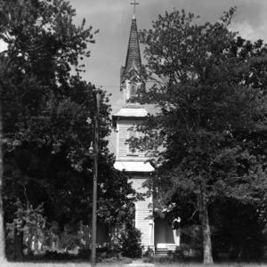 Front view, St. Martin's Episcopal Church, Hamilton, North Carolina
