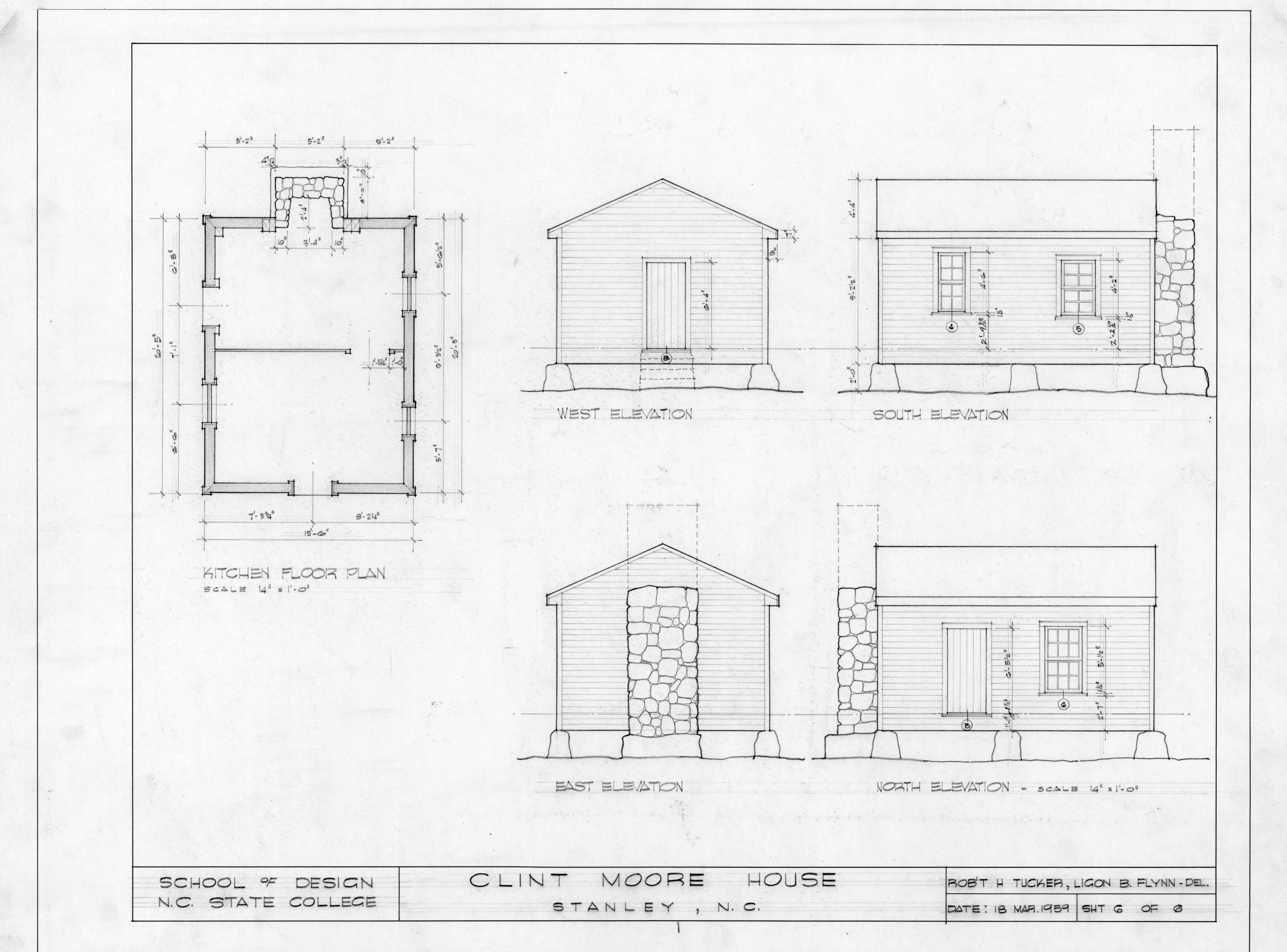 kitchen elevations and floor plan clint moore house kindergarten school section plan and elevations lindley